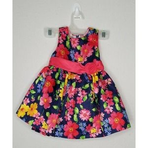 American Princess Floral Dress Baby Girl Size 12M